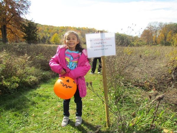 """I Spy"" Halloween Trail, Treats, and Fun at Cornwall Nature Museum"