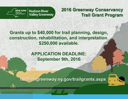 Greenway Announces Trail Grant Program