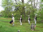18th Century Graveside Ceremony at the New Windsor Cantonment
