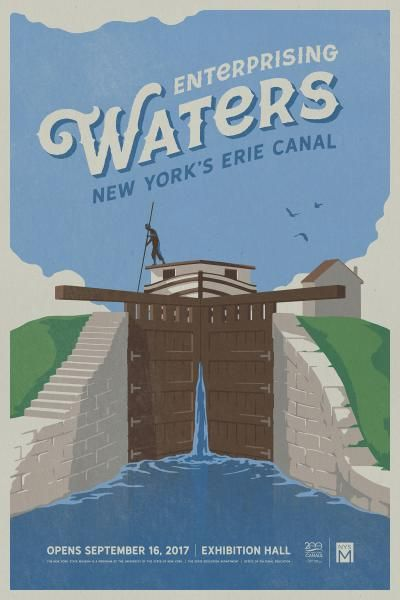 Enterprising Waters: New York's Erie Canal