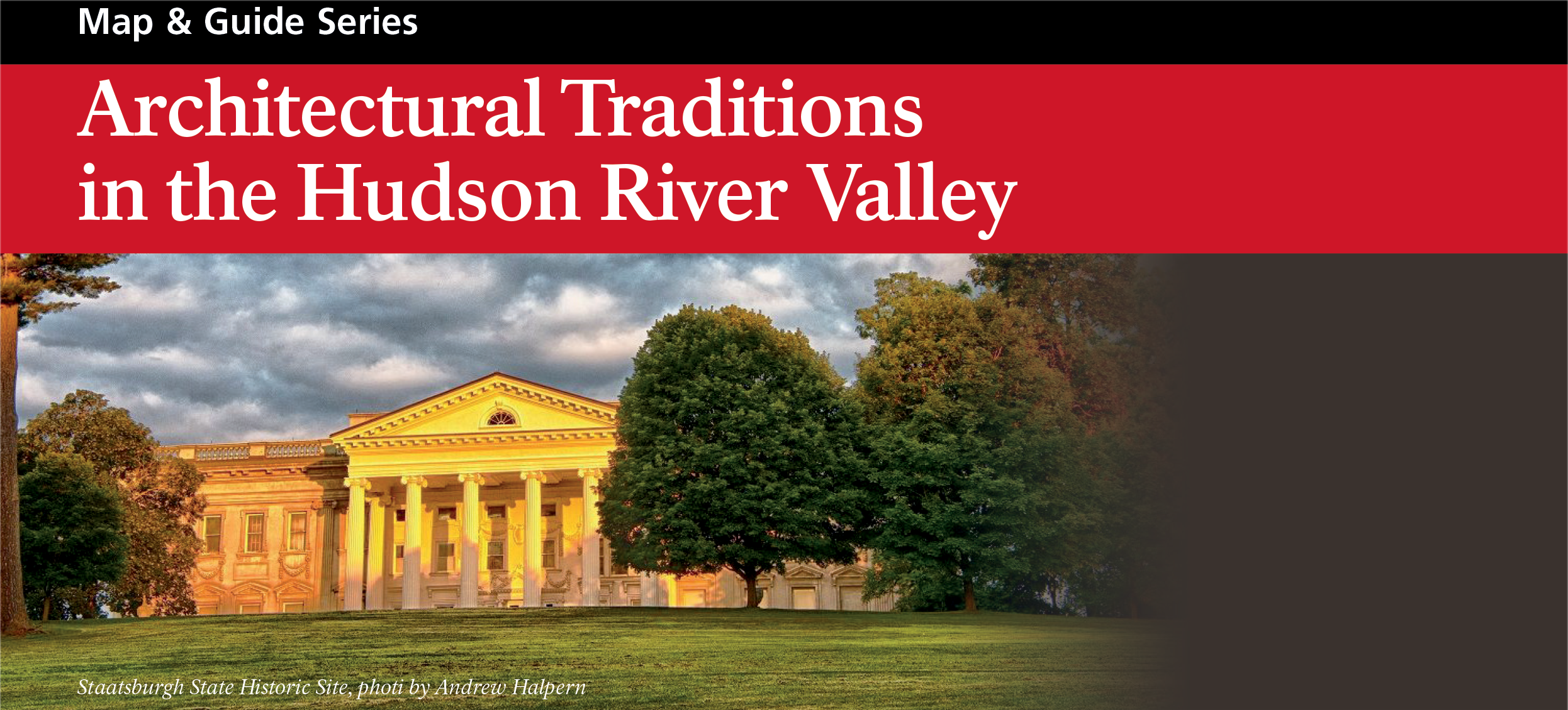 Architectural Traditions in the Hudson River Valley Map and Guide Cover