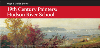 19th Century Painters: Hudson River School Map and Guide Cover