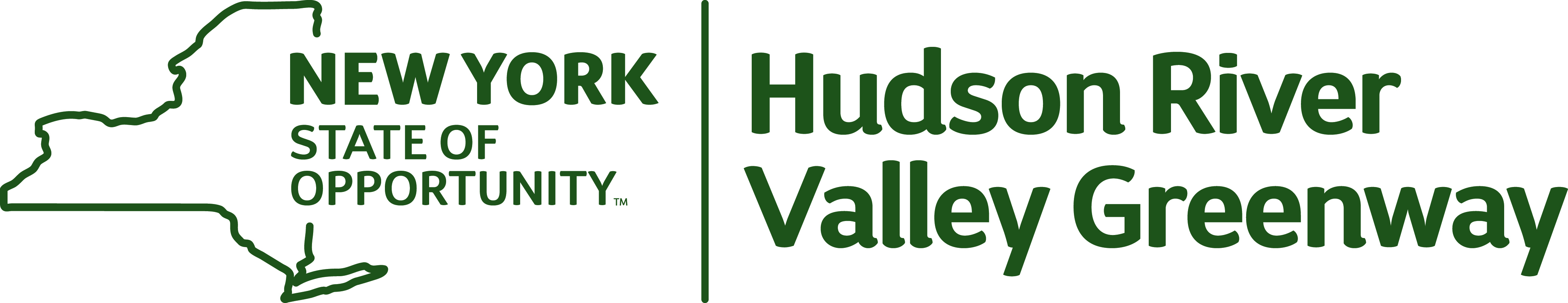 New York State of Opportunity | Hudson River Valley Greenway Logo